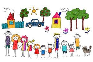 diverse family units